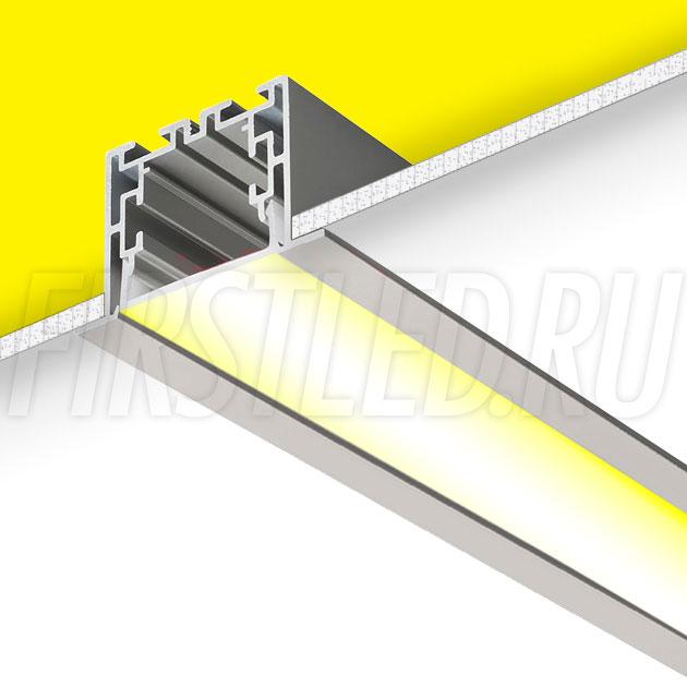 Встраиваемый алюминиевый профиль TALUM E55.35