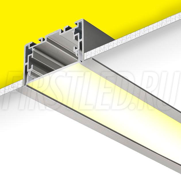 Встраиваемый алюминиевый профиль TALUM E69.35