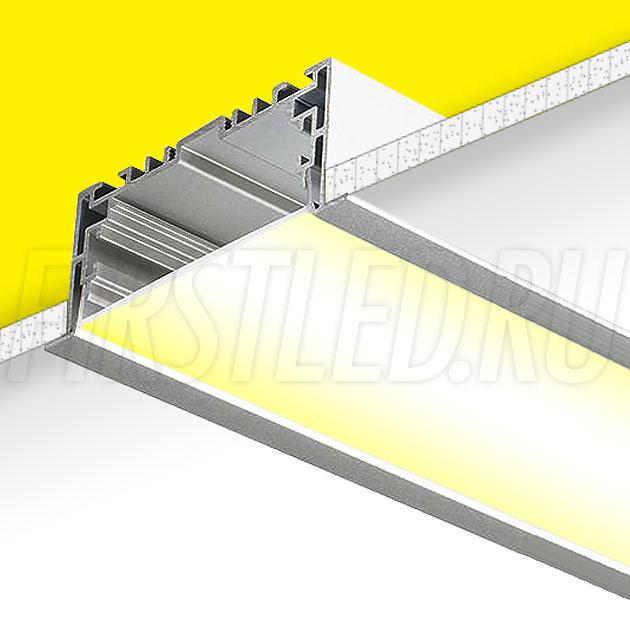 Встраиваемый алюминиевый профиль TALUM E94.35