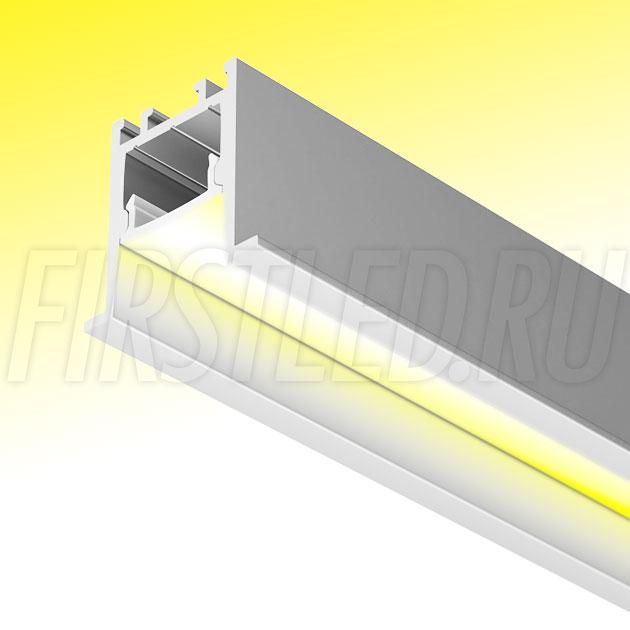 Встраиваемый алюминиевый профиль TALUM HIDE E23.22