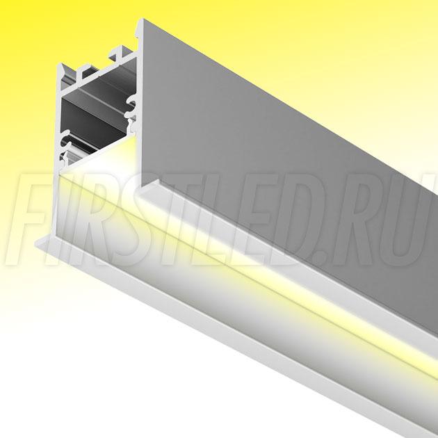 Встраиваемый алюминиевый профиль TALUM HIDE E35.42