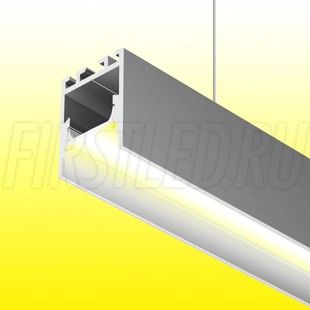 Подвесной алюминиевый профиль TALUM HIDE WP16.22