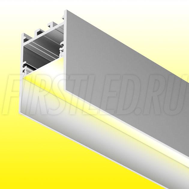 Накладной / подвесной алюминиевый профиль TALUM HIDE WP35.51