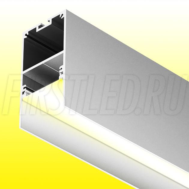 Накладной / подвесной алюминиевый профиль TALUM HIDE WP35.64