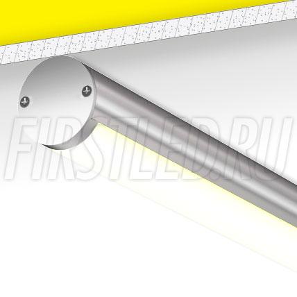 Накладной алюминиевый профиль TALUM PD.40