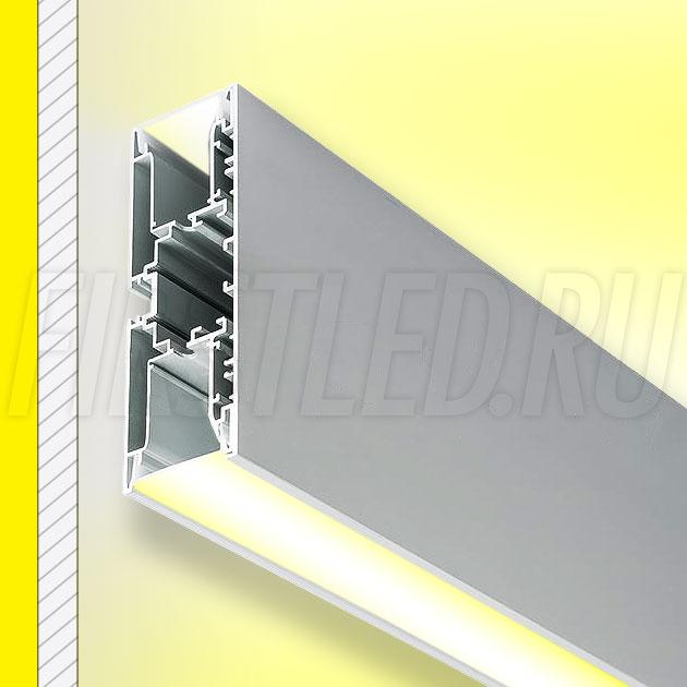 Настенный алюминиевый профиль TALUM W128.43