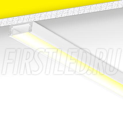 Накладной алюминиевый профиль TALUM W15.6 (белый)