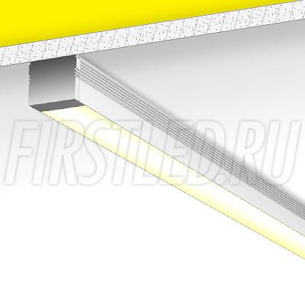 Накладной алюминиевый профиль TALUM W16.13