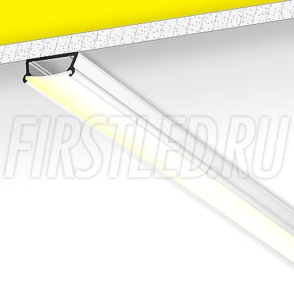 Накладной алюминиевый профиль TALUM W16.6