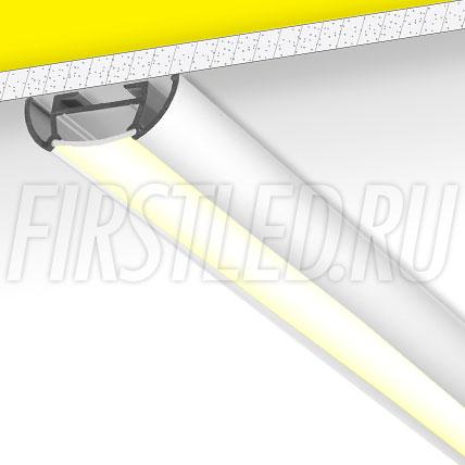 Накладной алюминиевый профиль TALUM W26.9