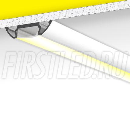 Накладной алюминиевый профиль TALUM W30.7