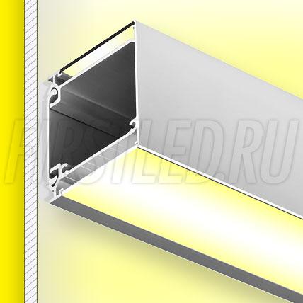 Настенный алюминиевый профиль TALUM W57.61