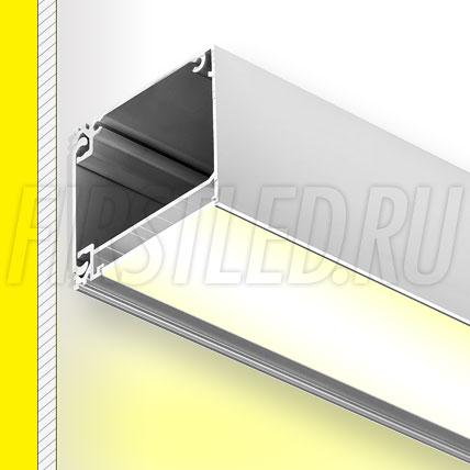 Настенный алюминиевый профиль TALUM W60.53