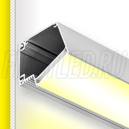 Настенный алюминиевый профиль TALUM W73.63