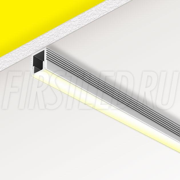 Накладной алюминиевый профиль TALUM W7.9