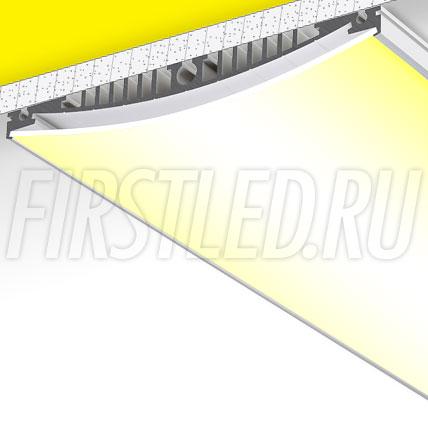Накладной / подвесной алюминиевый профиль TALUM WP154.30