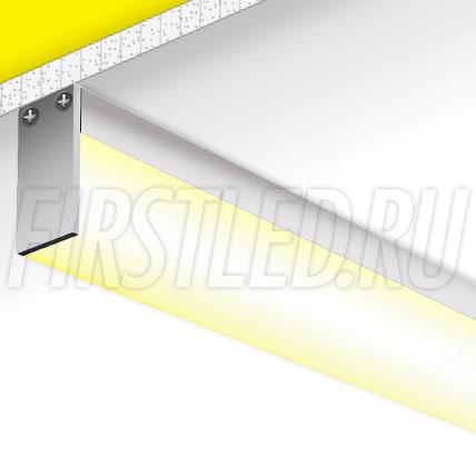 Накладной алюминиевый профиль TALUM WP20.36