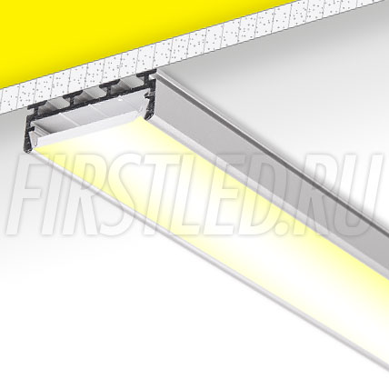 Накладной / подвесной алюминиевый профиль TALUM WP26.10
