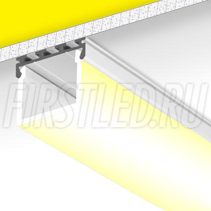 Накладной / подвесной алюминиевый профиль TALUM WP26.24K