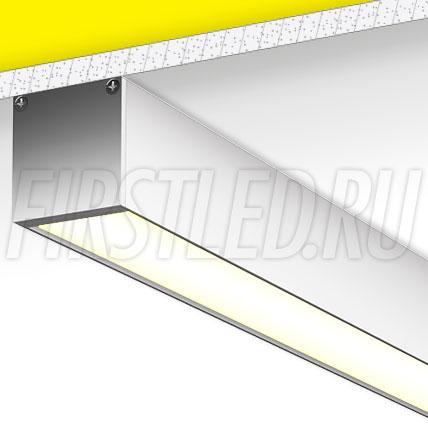 Накладной алюминиевый профиль TALUM WP35.35