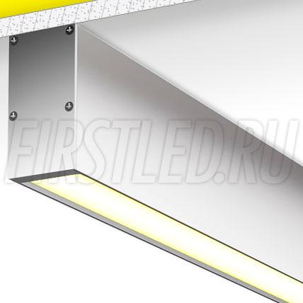 Накладной алюминиевый профиль TALUM WP36.67