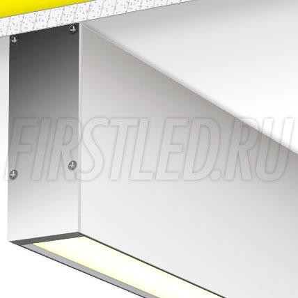 Накладной алюминиевый профиль TALUM WP36.91
