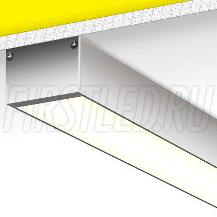 Накладной алюминиевый профиль TALUM WP49.32