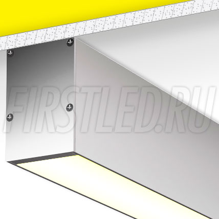Накладной алюминиевый профиль TALUM WP49.70