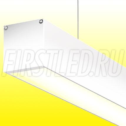 Подвесной алюминиевый профиль TALUM WP50.50 (белый, 2,5м)