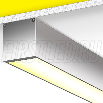 Накладной алюминиевый профиль TALUM WP50.50