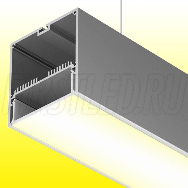 Подвесной алюминиевый профиль TALUM WP74.77