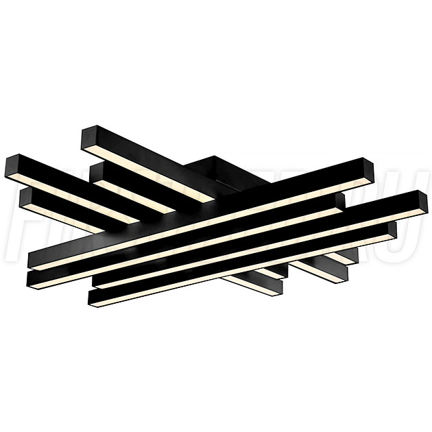 Светодиодная люстра TREND 85 (черная)