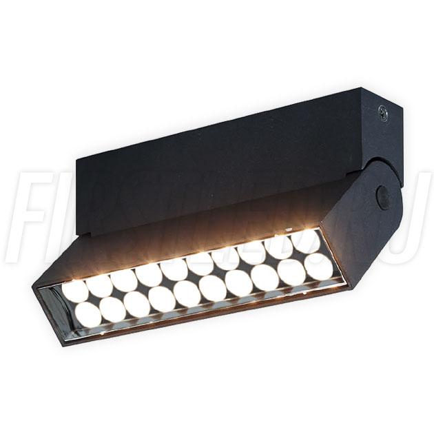 Накладной светодиодный светильник TURNED LOFT Black 10W
