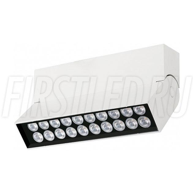 Накладной светодиодный светильник TURNED LOFT White 10W
