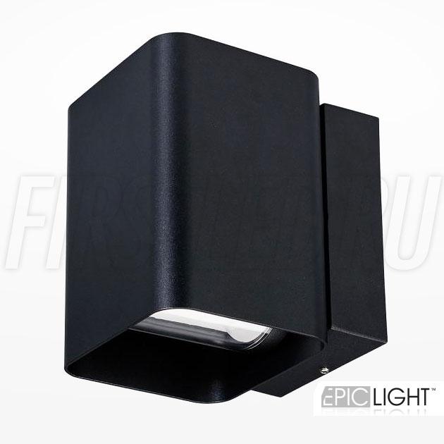 Настенный светодиодный светильник VARION (черный)