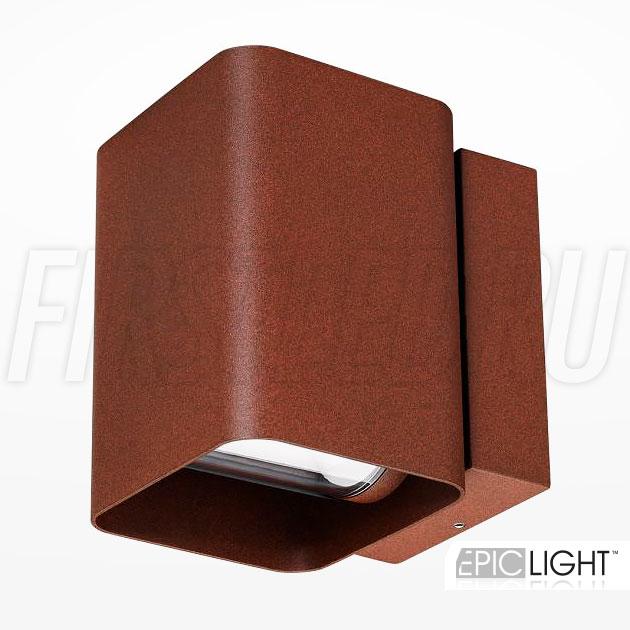 Настенный светодиодный светильник VARION (терракотовый)